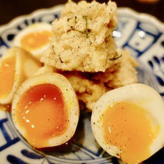 明太子味ポテトサラダ(おおよそ )