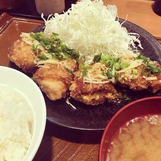 油淋鶏定食(から好し 小平小川町店)