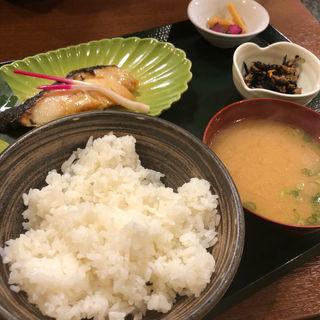 銀ダラ定食(銀だら屋)