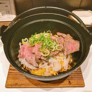 神戸牛鉄板飯(神戸牛ハンバーグとステーキの店 いち 本店 )