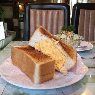 エッグトーストモーニング(フルール )