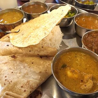 アーンドラスペシャルミールス(アーンドラ・キッチン (Andhra Kitchen))