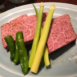 花乃牛 ハネシタステーキ100g(焼肉 肉どうし)