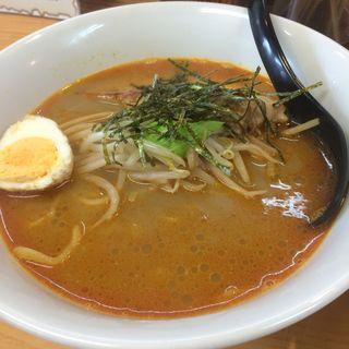 炙りチャーシューカレーラーメン(魔女のカレー (マジョノカレー))