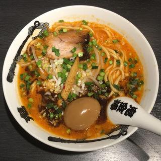 カラシビ味噌らー麺 + 味玉(カラシビ味噌らー麺 鬼金棒)