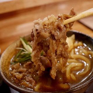 肉カレーうどん(爽月 (そうげつ))