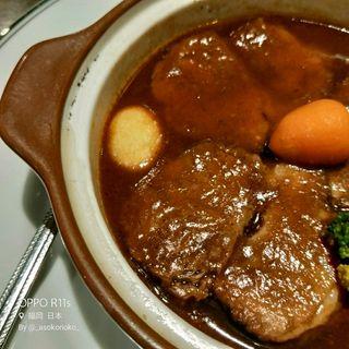牛肉の黒ビール煮込み(ビアレストラン パブ キリン 天神ビル店)