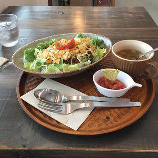 lunch set:タコライス(ユニフル コーヒー ボックス (UNIFLL COFFEE BOX))