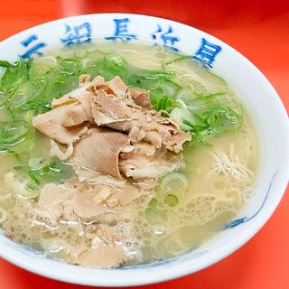 肉ラーメン(ラーメン+替肉)(元祖長浜屋)