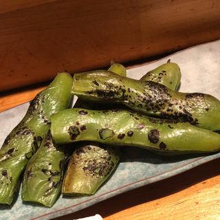 焼きそら豆(魚真 渋谷店 (うおしん))