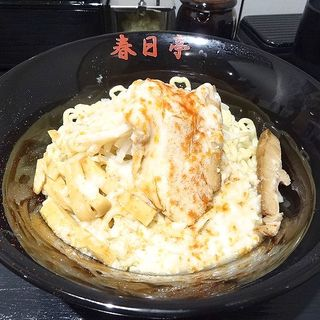 鳥豚油そば(油そば専門店 春日亭 道頓堀店)