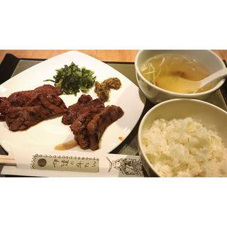 牛たん定食(伊達の牛たん 仙台駅地階 エスパル店 )
