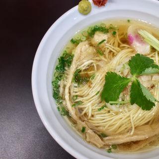 マグロ出汁の中華そば白醤油仕立(麺や hide)