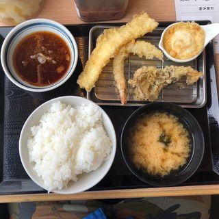 天ぷら定食(天ぷら定食 まきの 西神戸店 )