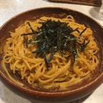タラコとウニのスパゲティ