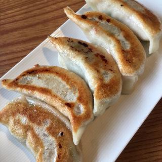 焼き餃子(西安刀削麺 天戸店)