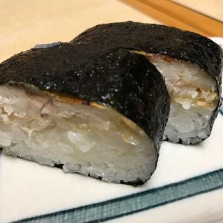 焼きサバ寿司 2ケ