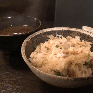 ずわい蟹の土鍋ご飯(料理屋壱 )