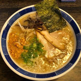 楽天とんこつ+ガーリック・プル小(楽天らーめん堂 )