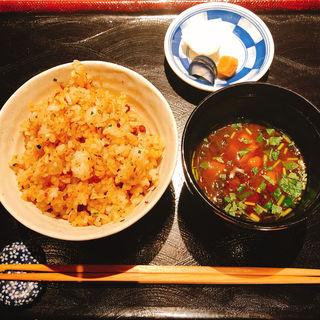 ガーリックライス(松阪牛 よし田)