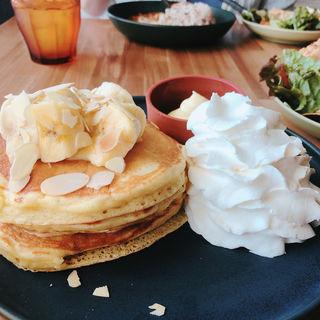 パンケーキランチ(tables cook&LIVING HOUSE)