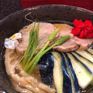 冷やし静蓮(烈志笑魚油 麺香房 三く)