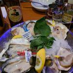 生牡蠣三種盛り
