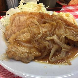 生姜焼き定食(洋食大吉)
