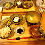 胡麻豆腐湯葉巻き揚げ