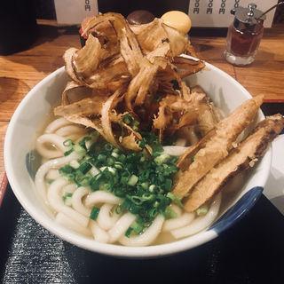 ゴボ天うどん(博多うどん酒場イチカバチカ)