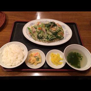 あんかけ焼きそば定食(民生 東店 (ミンセイ))