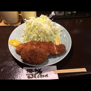 とんかつ定食 トッピング カレーコロッケ付き(とんかつ太郎 (とんかつ・たろう))