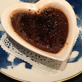 チョコレートのクリームブリュレ(スポンタネ )