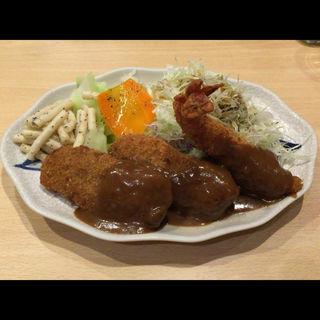 ミックス定食A(洋食屋 双平 (SO-HEY))