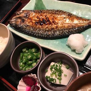 鯖塩焼き(ひもの屋 半蔵門)