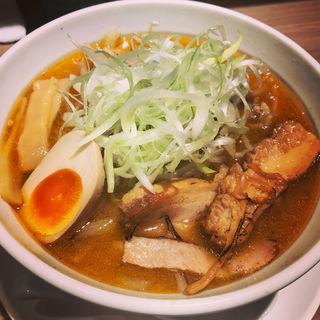 野菜たっぷり味噌らーめん(北海道ラーメン さつほろ)