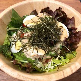 サラダ(鉄板焼 京都 梅しん)