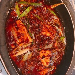 麻婆豆腐(酒中花 空心  (シュチュウカ クウシン))