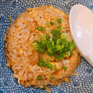 """半チャーハン(自家製麺 魚担々麺・陳麻婆豆腐 """"dan dan noodles"""")"""