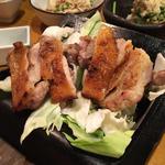 天草大王鶏の瓦焼き