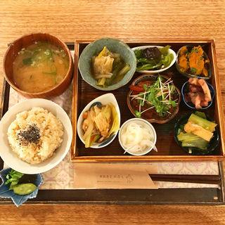 養生ごはんセット(天然食堂 かふぅ )
