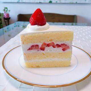 苺のショートケーキ(ディマンシュ)