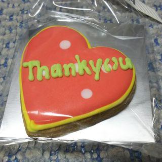 デコラティブクッキー(ハート)(DEAN & DELUCA ディーンアンドデルーカ アトレ川崎店)