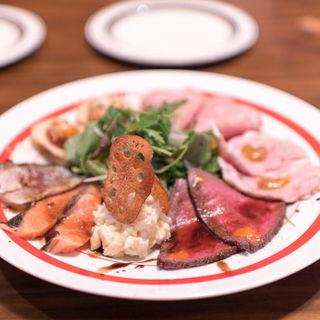 前菜の盛り合わせ(ザ キッチン ボーノボーノ (The Kitchen buono buono))