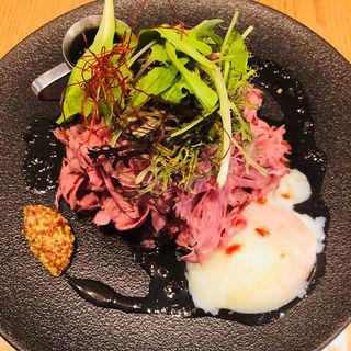 ローストビーフ丼(ぶどう酒食堂さくら )