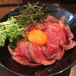 ローストビーフ丼(キャメルダイナー 京都店 (CAMEL DINER))