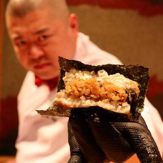 鰻バーガー(照寿司 (てるずし))