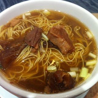牛モツ麺(WongChiKee (黄枝記))