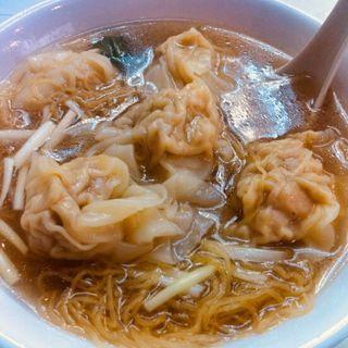 海老ワンタン麺(劉森記麺家)
