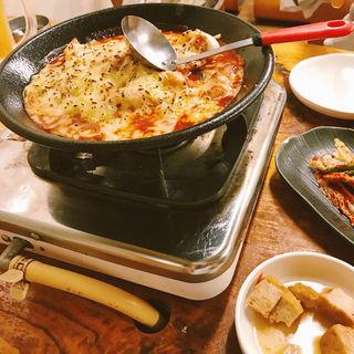 チーズトッポキ(ヌルンジ)